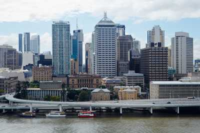 Brisbane river and Central Business District