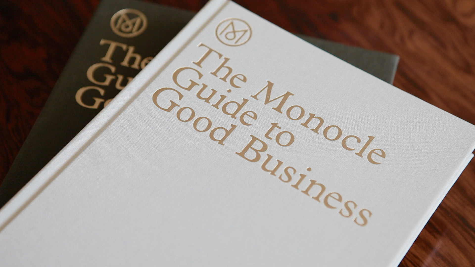 Monocle's handsome guide to good business   graphic design.