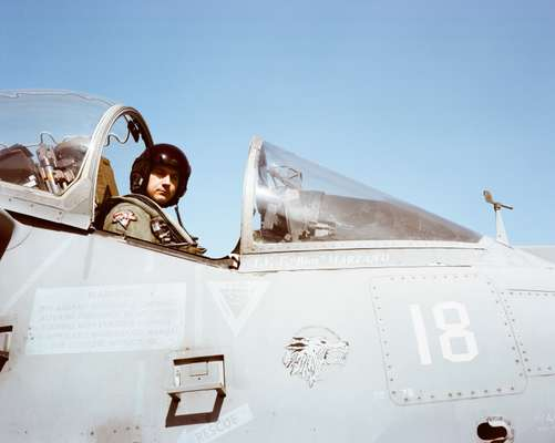 Fighter pilot Fabio 'Bias' Marzano