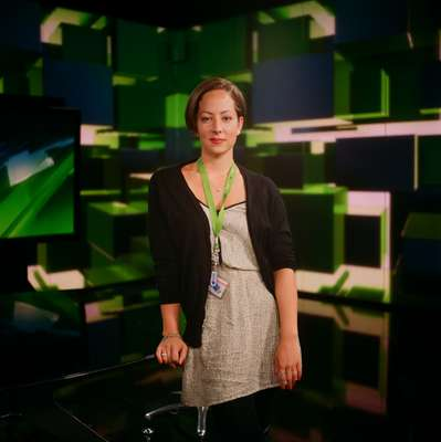 Anissa Naouai, an American presenter whose new show begins later this year