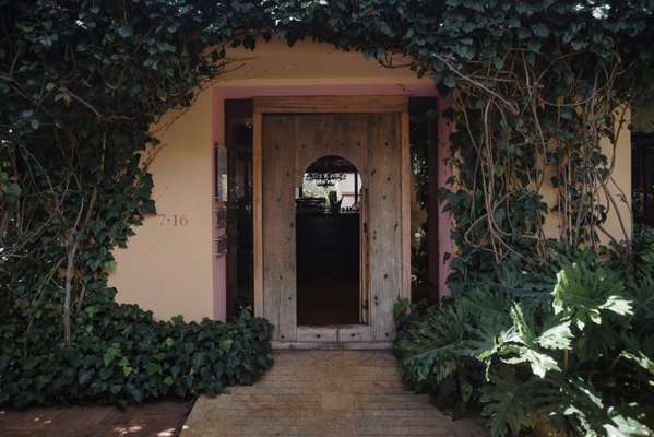 Entrance to 7.16 restaurant