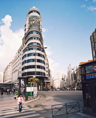 Carrión Cine Capitol building in Plaza Callao