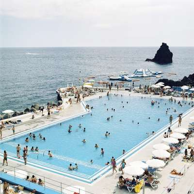 Seawater swimming pool at the Lido Beach Club Complex