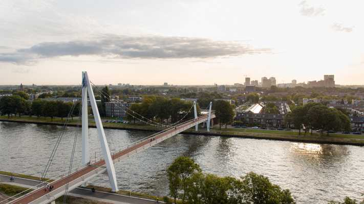 Dafne Schippers Bicycle Bridge by Next Architects