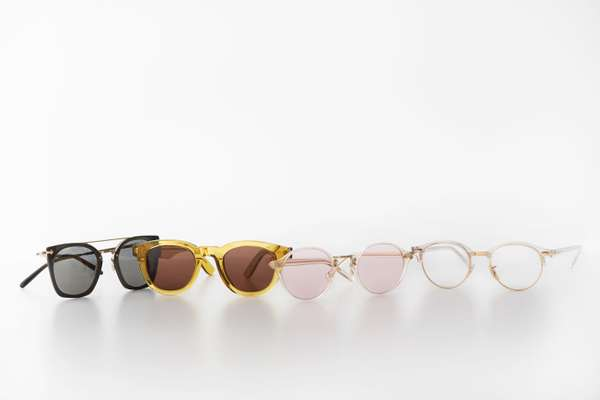 (left to right) Eyewear by Oliver Peoples, A Kind of Guise, Oliver Peoples and Ray-Ban