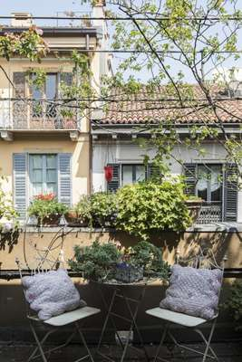 Terrace in the Brera neighbourhood