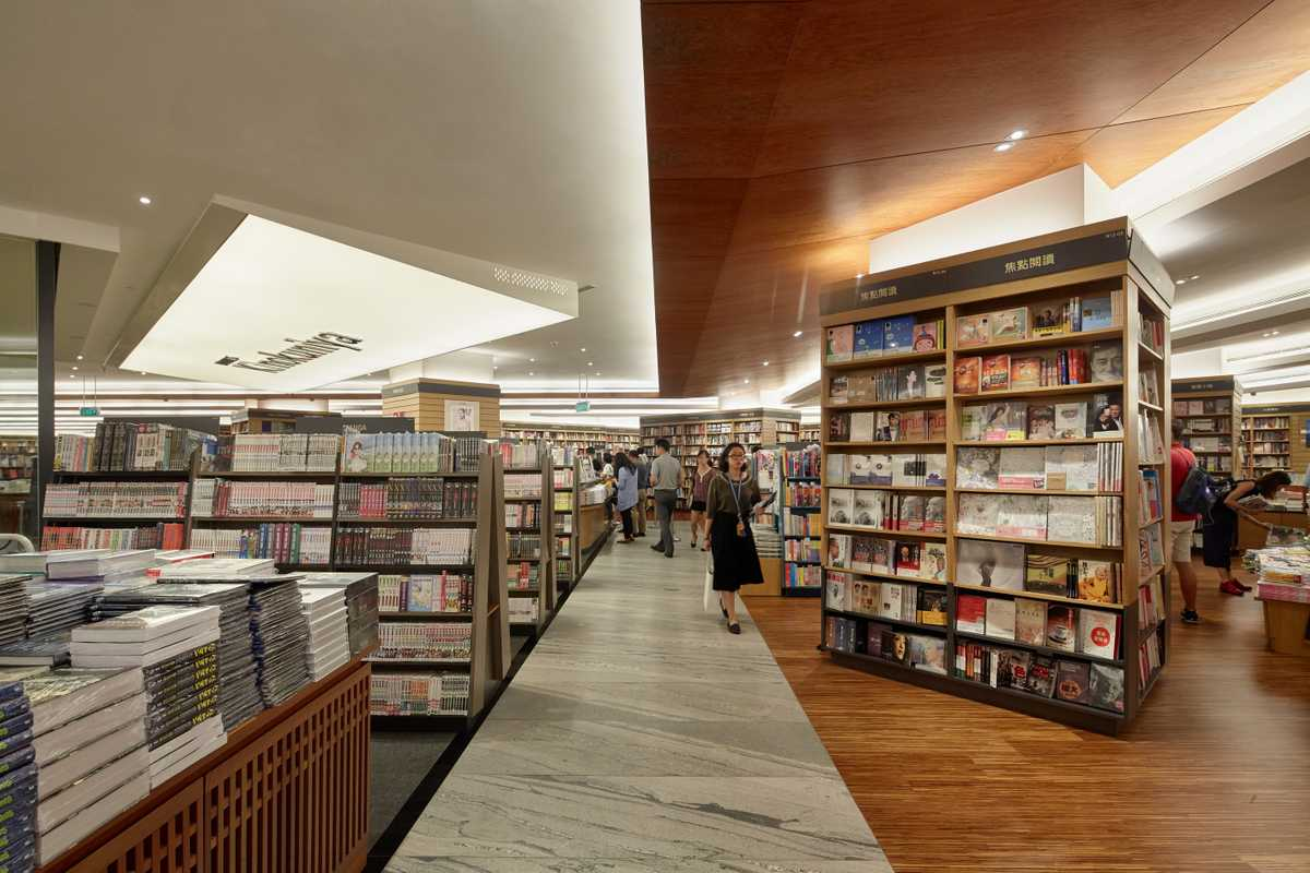 Kinokuniya bookstore at Ngee Ann City on Orchard Road