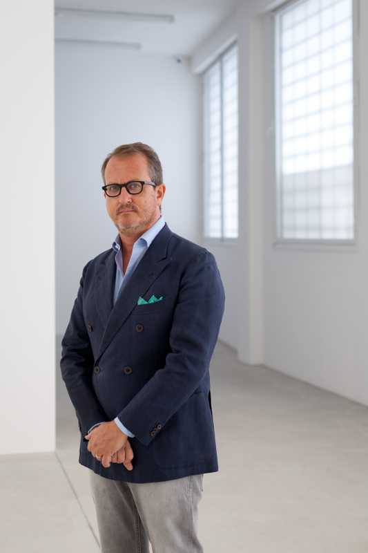 Art-gallery owner Franco Noero