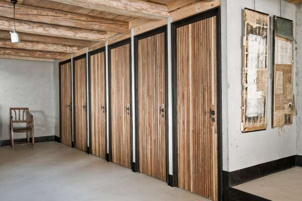 Storage cupboards to discreetly hide skiwear