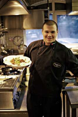 Venezuelan chef Isterling Eloy Alvarado