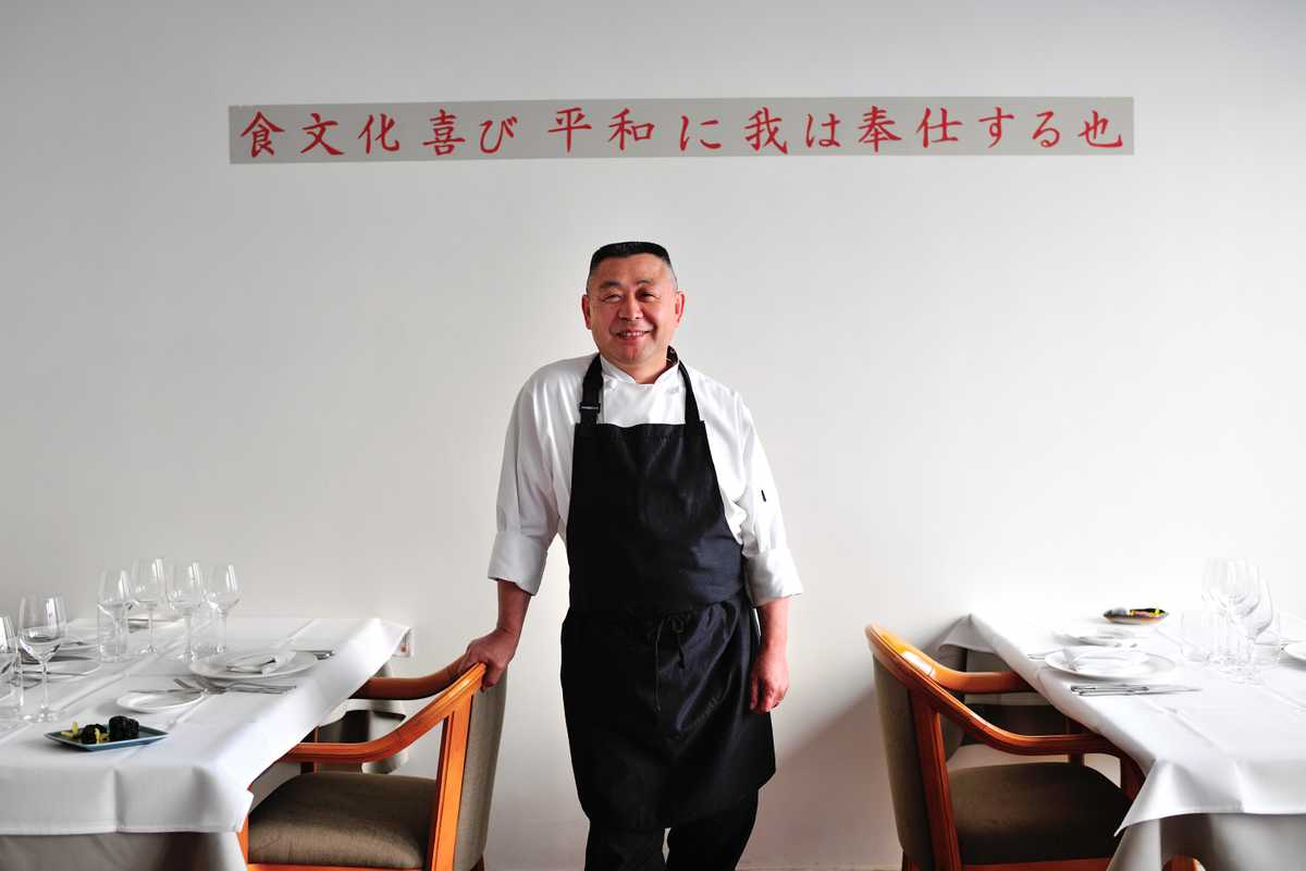 Chef Saburo Inada of Inada restaurant