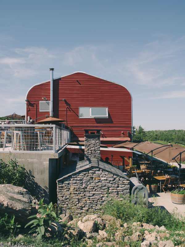 Norman Hardie vineyard and winery