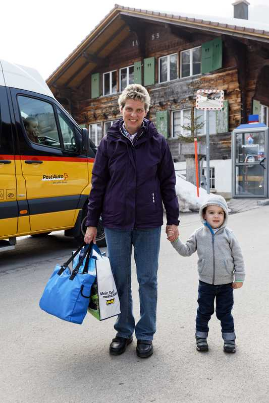Families rely on PostAuto buses to get to school, work and  to do their shopping