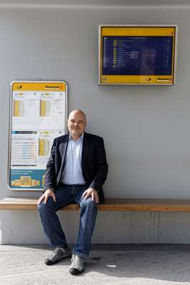 Ruedi Simmler, director of the Bern region for PostAuto
