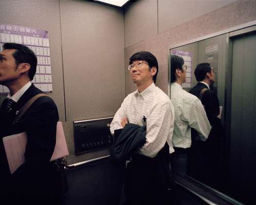 Taue takes a city hall lift