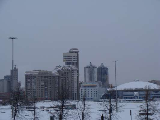 Residential development in central Ekaterinburg