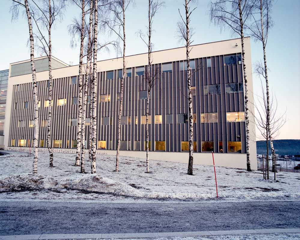 Exterior of the treatment centre