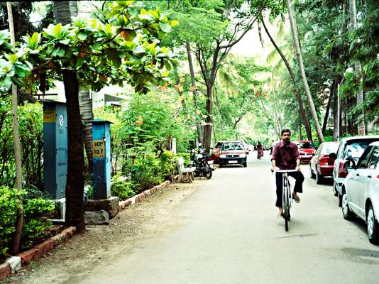 Pune is India's car-making capital – but some prefer two wheels