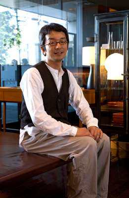 Claska's creative director, Takeo Okuma