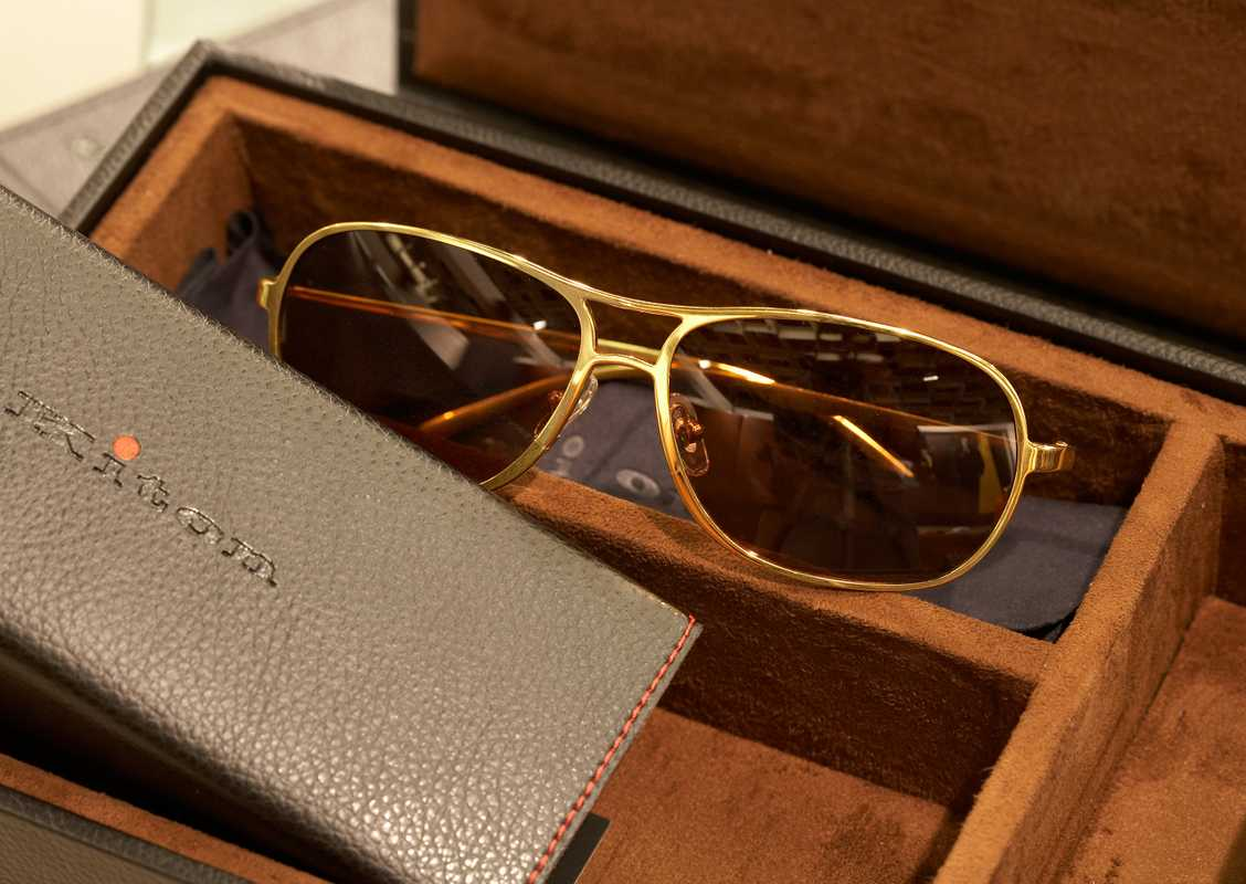 Sunglasses by Kiton