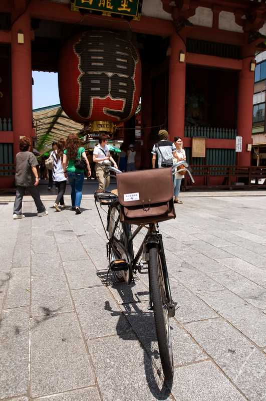 The popular Inujirushi bike bag