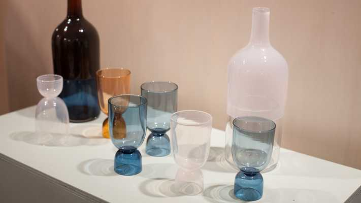 Bottoms Up glasses by Ingrid Aspen (€87 each)