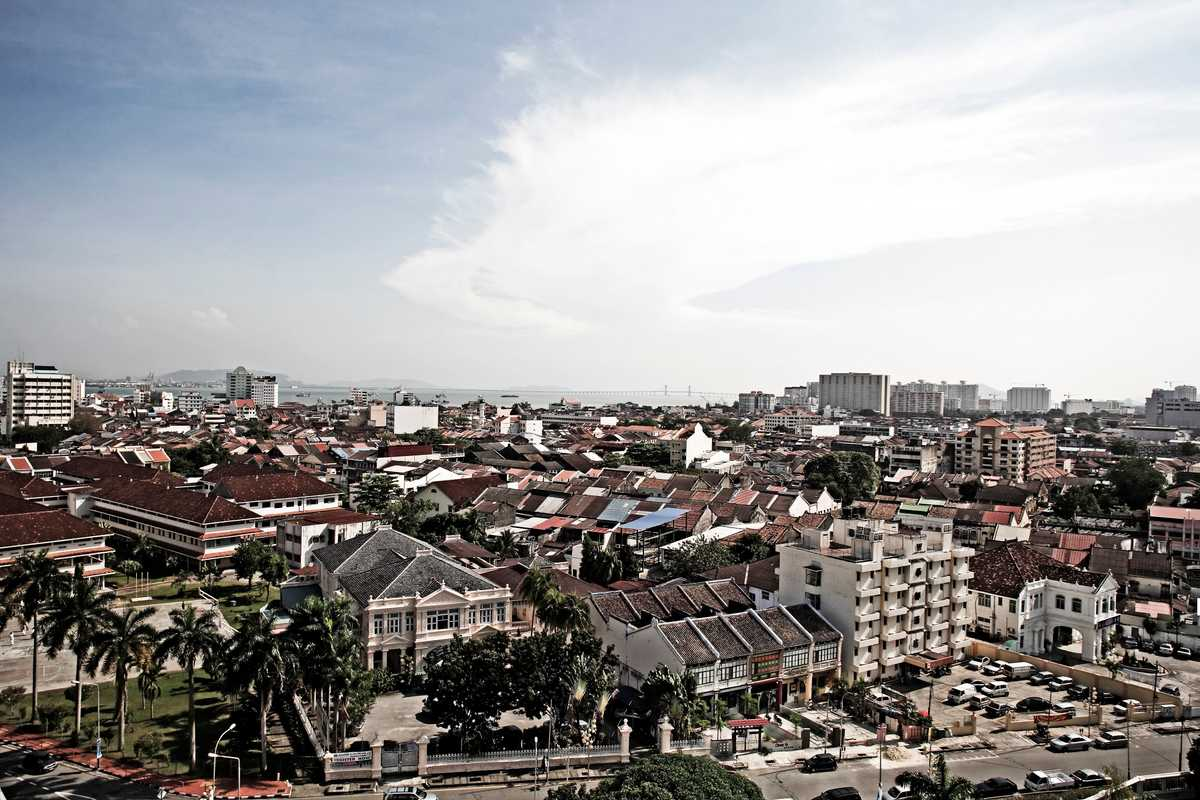 View of George Town