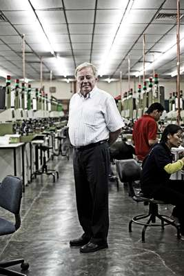Gabor Faskerty, who set up electronics firm Fastron in Penang three decades ago