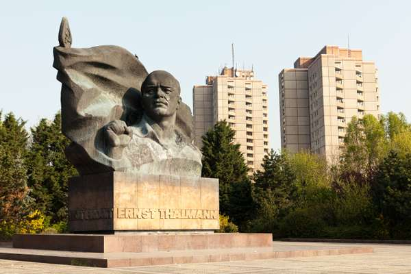 Ernst Thälmann memorial, one of the few remaining socialist monuments in Berlin