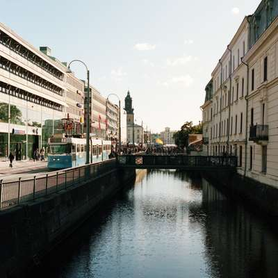 Canal in central Gothenburg
