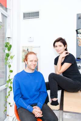 Industrial designer Ryan Wilding and photographer Agata Piskunowicz