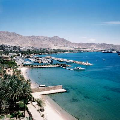Seafront of Aqaba
