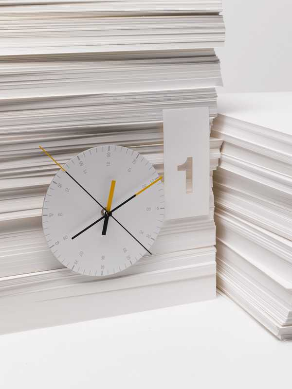 Hundreds Tens Units/wall clock