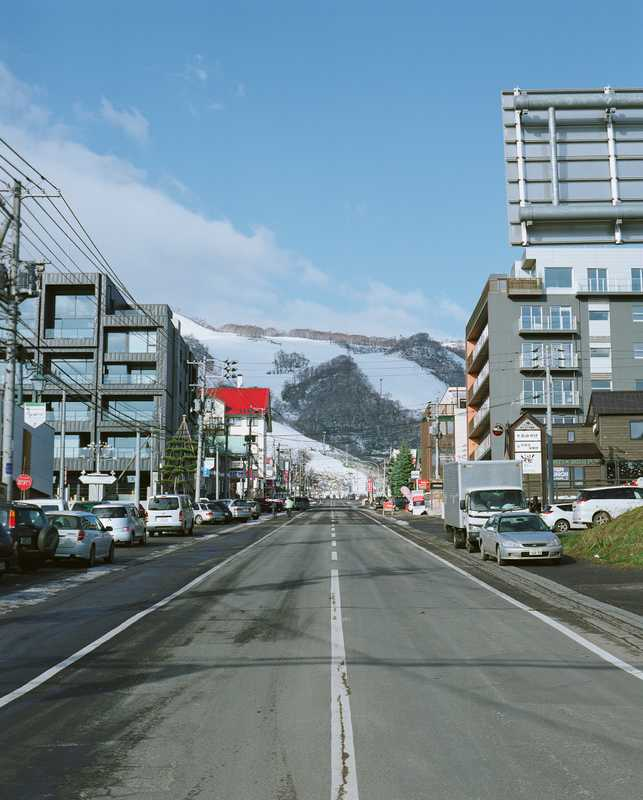 Main street in Hirafu due to be redeveloped by Riccardo Tossani