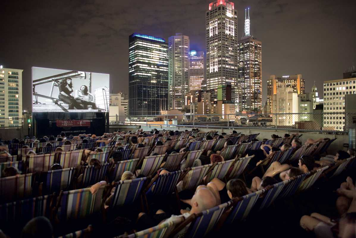 Rooftop Cinema, Melbourne