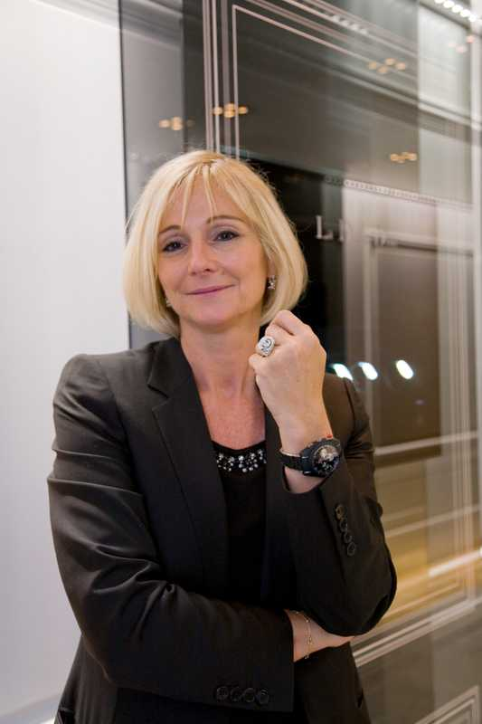 Laurence Nicolas, president of Dior Montres