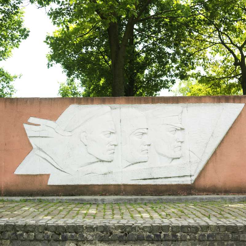 War memorial to Russian sailors