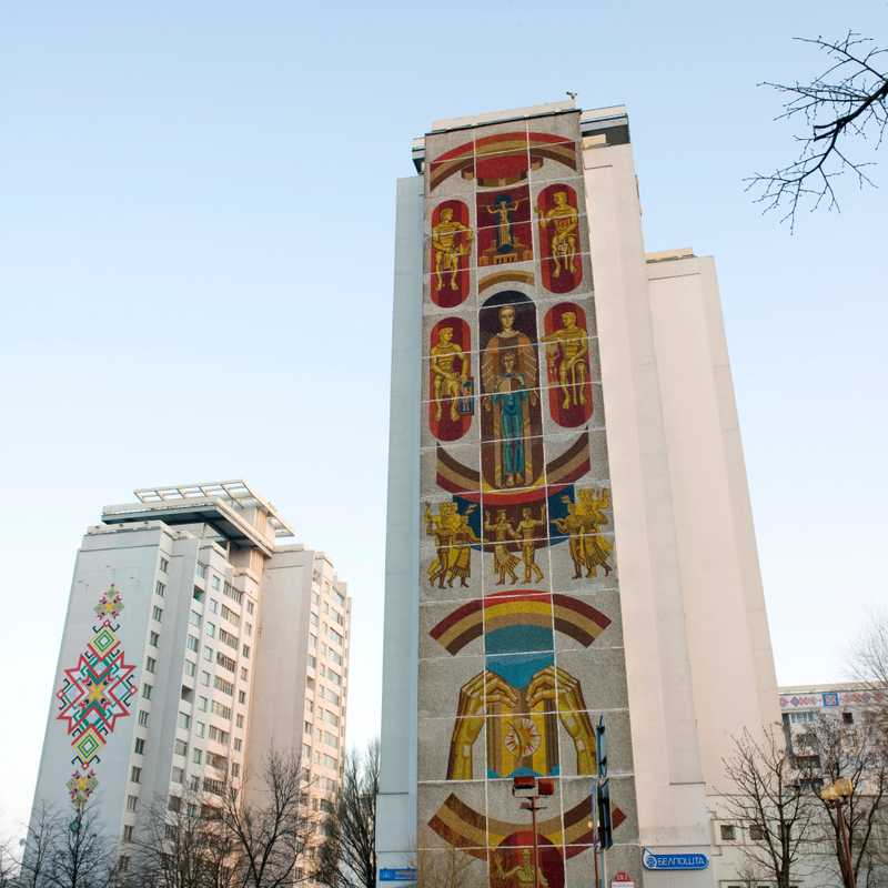 Minsk apartment block