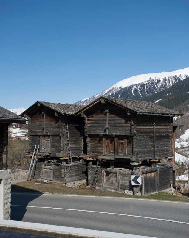 Vernacular architecture in Valais