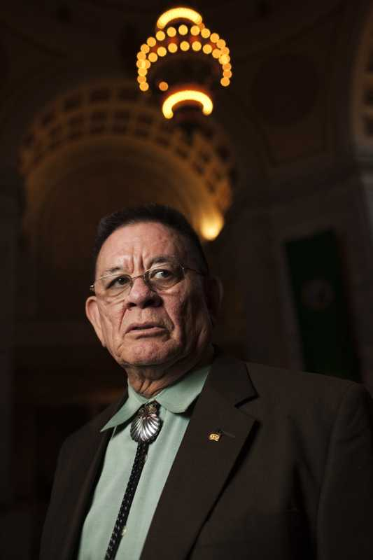 John McCoy, Tulalip tribal leader