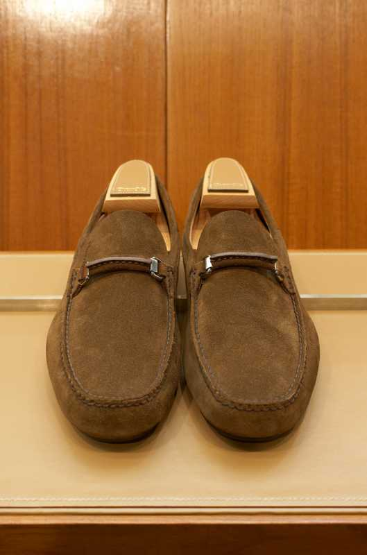 Suede loafers by Church's