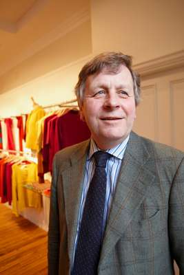 Managing director of Johnstons Cashmere, Scotland