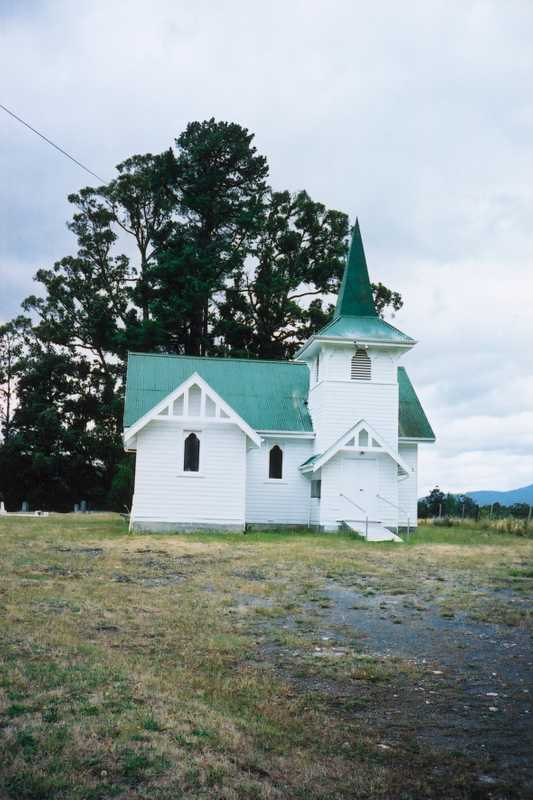 Church at Glen Huon