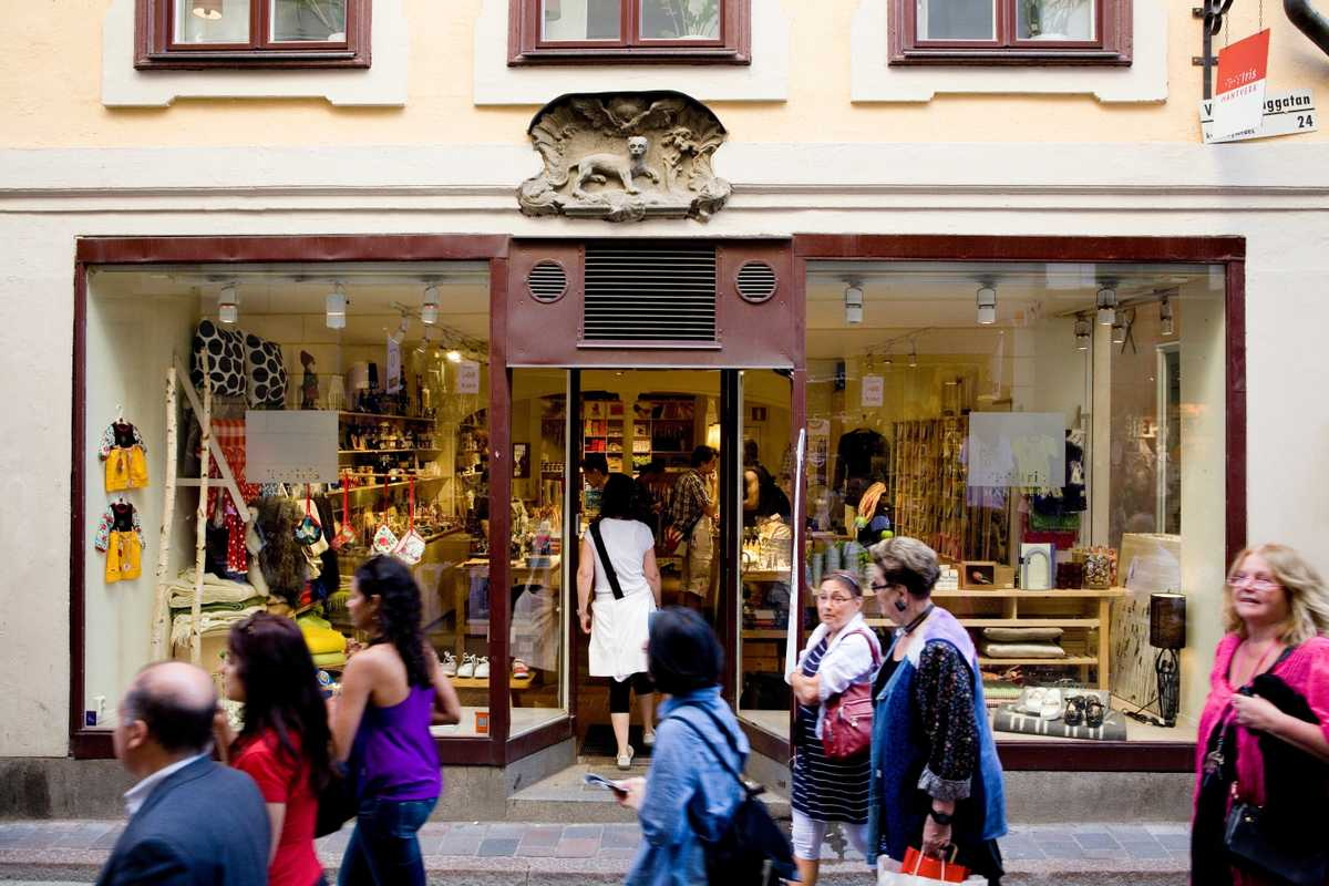 Shop in Gamla Stan