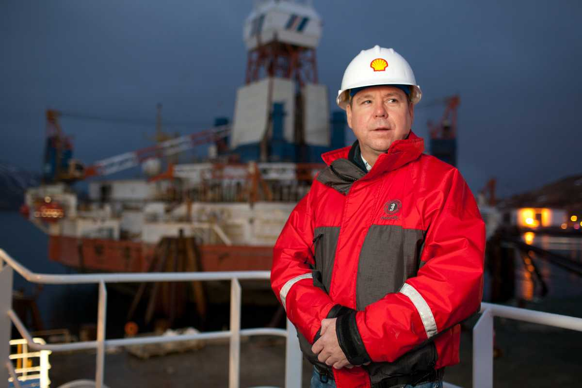 John Kaighin, Shell Oil manager