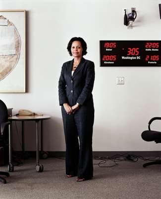 Elizabeth Lule. Managing Director of the World Bank AIDS Campaign Team for Africa.