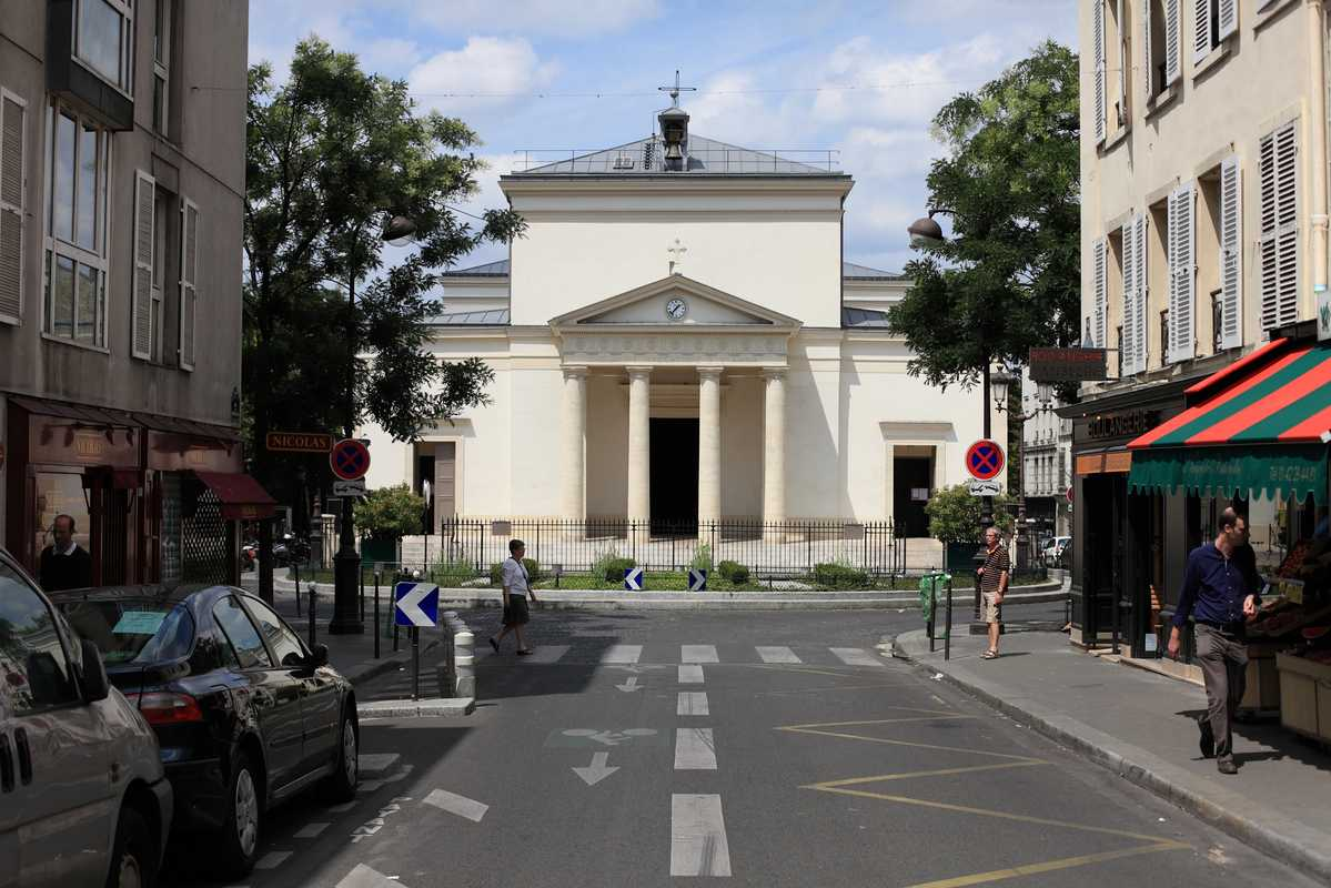 Church Sainte Marie des Batignolles