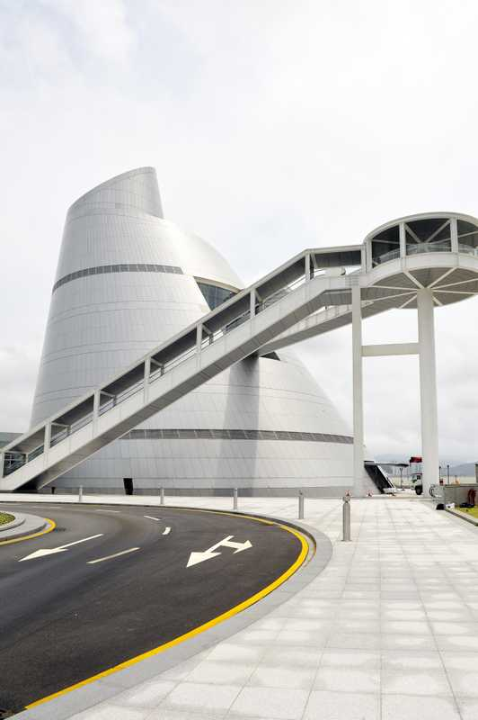 IM Pei's Macau Science Centre