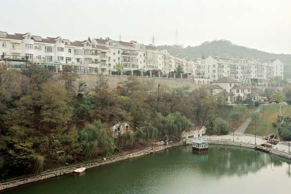 Gated residential community in Zhongshan