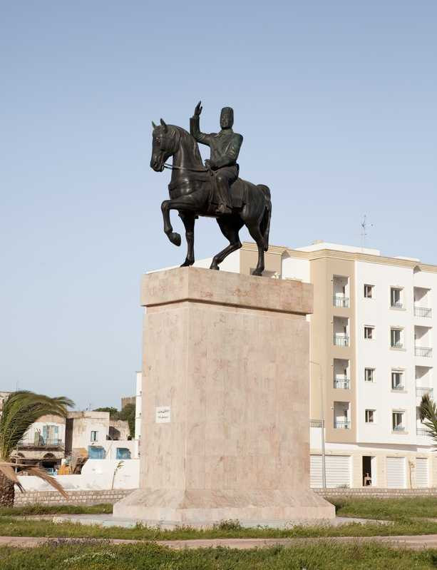 Statue of Habib Bourguiba